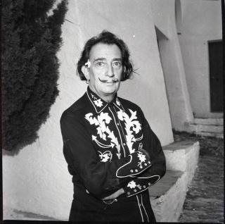 """""""Salvador Dalí"""". Jacques Léonard. Archivo Familia Jacques Léonard — Cortesía de la Fundación Photographic Social Vision"""