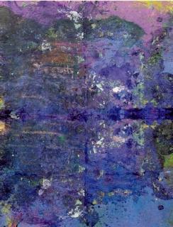Lin Calle Corral, Bardera. Acrílico s/ lienzo. 195 x 150 — Cortesía de la Asociación Española de Pintores y Escultores