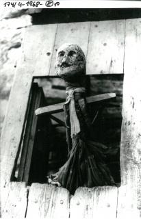 Antton Elizegi, Txorimalo en el caserío de Juan Luis Goenaga — Cortesía de San Telmo Museoa