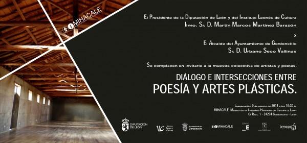 Diálogo e intersecciones entre poesía y artés plásticas
