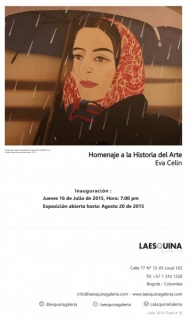 Eva Celin, Homenaje a la Historia del Arte