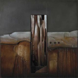 Josep Maria Aviles, 2015 Serie A501 - 60 x 60 cm.