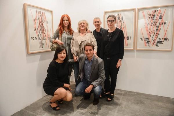 Jurado DKV con la galerista Angeles Baños