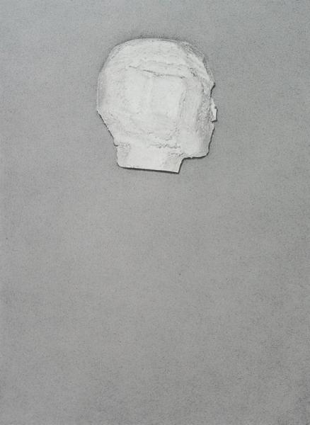 José Miguel Pereñiguez, Eidolon, 2016 tiza, carbón, lápiz conté sobre cartón 95 x 70 cm
