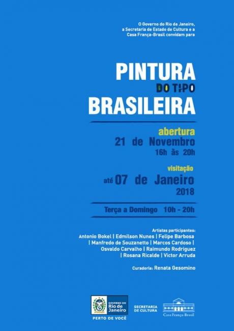PINTURA DO TIPO BRASILEIRA