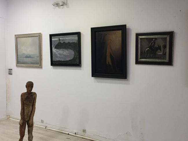 Vista de la exposición — Cortesía de la galería José Lorenzo