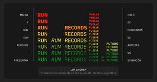 Run Run Records vuelve al futuro: Lux Lindner. Imagen cortesía MACBA | Museo de Arte Contemporáneo de Buenos Aires