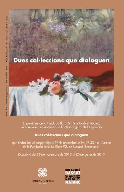 Dues col·leccions que dialoguen