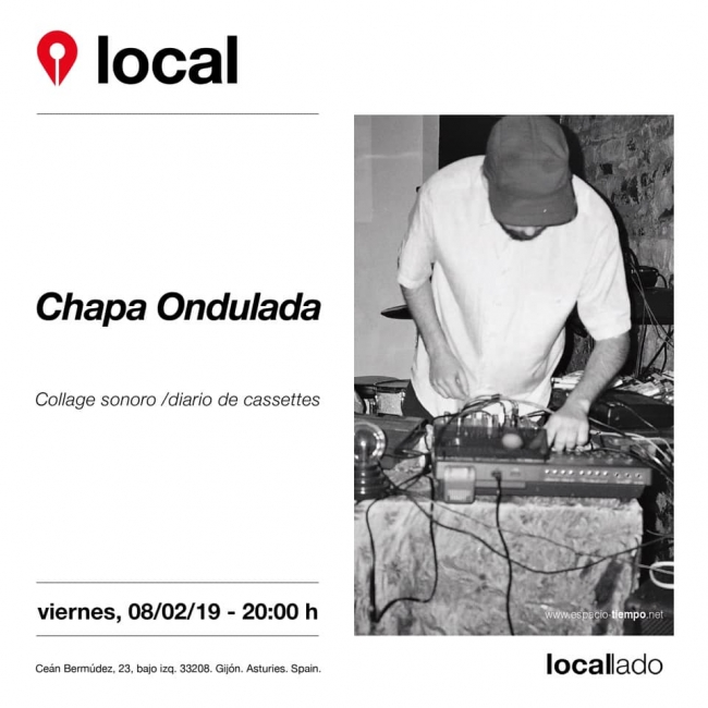 Chapa ondulada en Espacio local