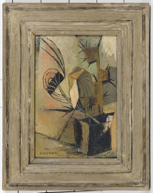 Francesc Subarroca, Flors del camp, 1971 - oli sobre tela — Cortesía del Consorci Museu d'Art Contemporani de Mataró
