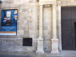 Niños esclavos. Museo de Teruel