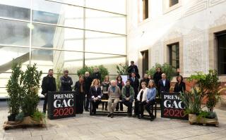 Foto de familia © Jordi Estruch — Cortesía del Gremi de Galeries d'Art de Catalunya (GGAC)
