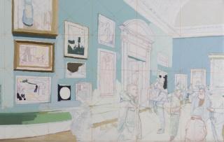 Santiago Iturralde, BRITISH (detalle). Fotografía: Viviana Gil — Cortesía del Museo de Arte Moderno de Buenos Aires