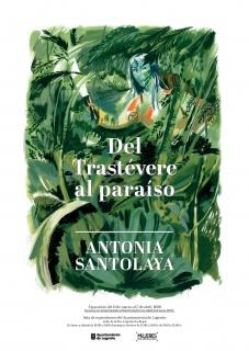 Cartel Exposición de Antonia Santolaya