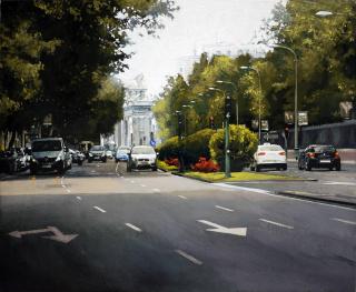 Raúl Gil, Puerta de Alcalá, Madrid — Cortesía de la Galería Michel Menéndez