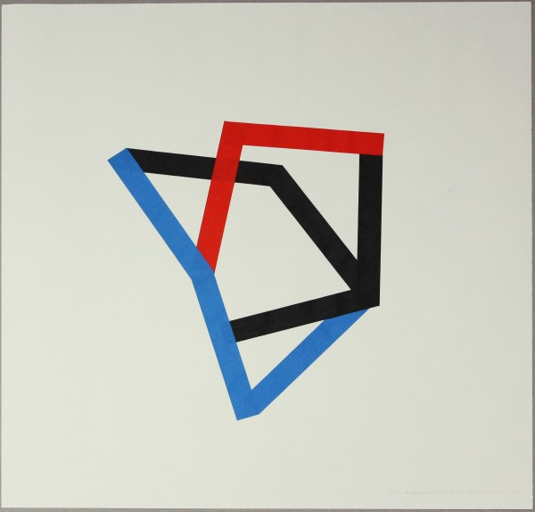 Anto Rabzas serie Tránsitos. Rodalquilar. collage. 50x50 cm.