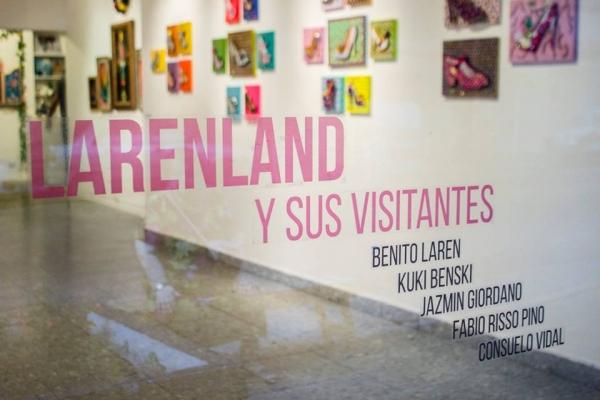 Larenland y sus visitantes