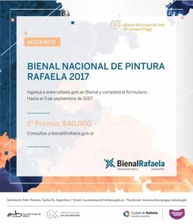 Bienal Nacional de Pintura Rafaela 2017