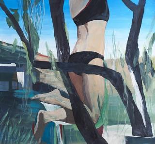 Marc Desgrandchamps – Cortesía de la Galería Pilar Serra