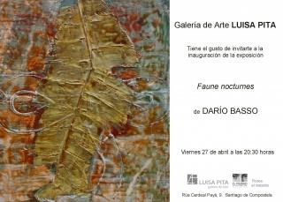 Darío Basso. Faune nocturnes