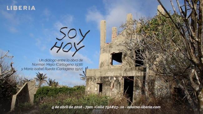 Soy Hoy. Un diálogo entre la obra de Norman Mejía (Cartagena, 1938) y María Isabel Rueda (Cartagena, 1972)