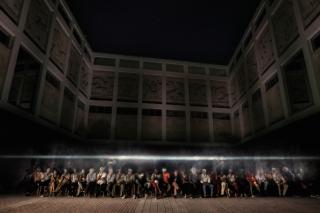 Imagen: Gonzalo Lebrija, Vía Láctea, 2016. Cortesía: Galería Travesía Cuatro.