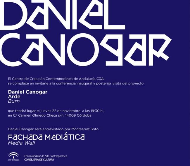 Daniel Canogar. Arde