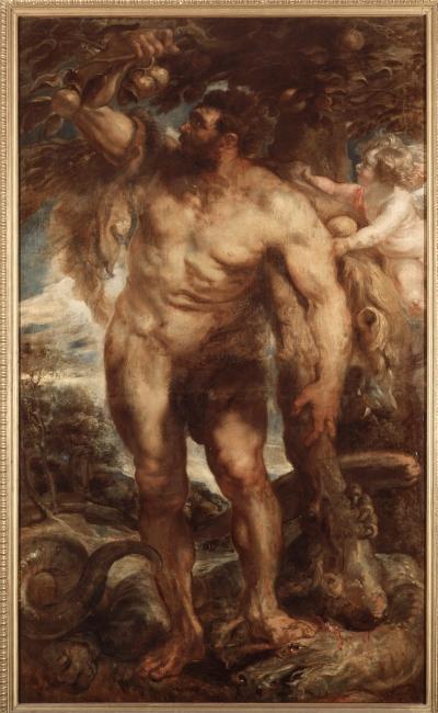 Rubens, Hércules en el Jardín de las Hespérides - Musei Reali - Galleria Sabauda de Turín — Cortesía de Acerca Comunicación