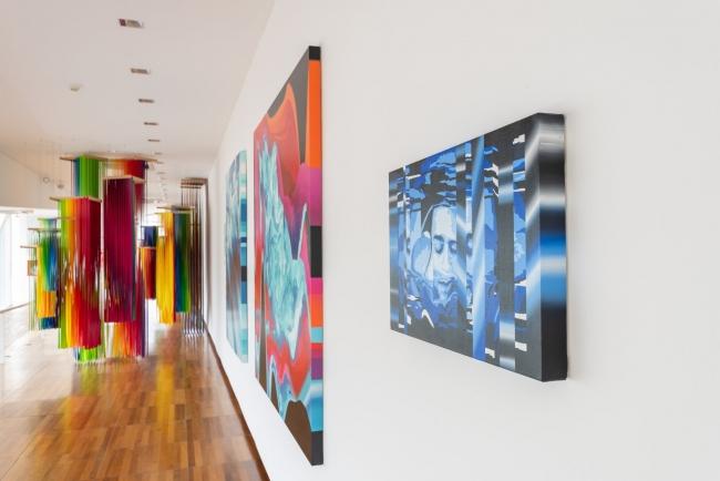 Spectrum y pinturas en Transpainting