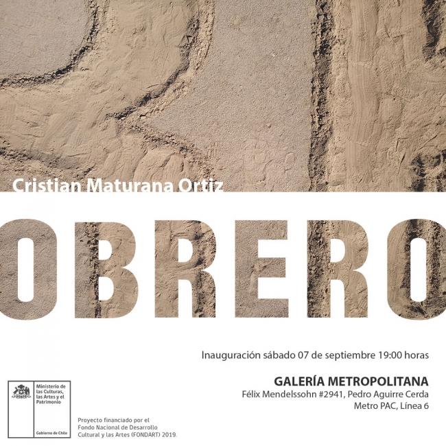 Cristian Maturana Ortiz. Obrero