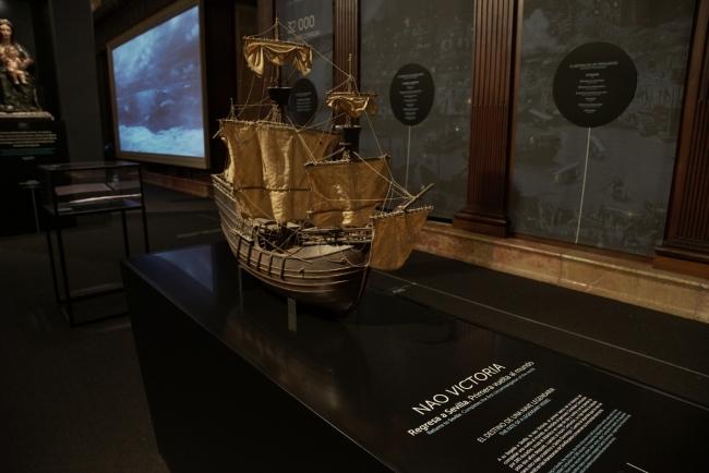El viaje más largo. Archivo General de indias, Sevilla — Cortesía de San Telmo Museoa