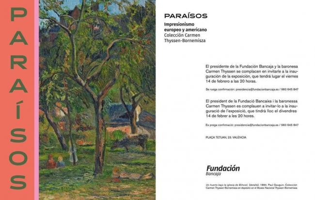 Paraísos. Impresionismo europeo y americano. Col. Carmen Thyssen-Bornemisza