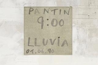 BERTA CÁCCAMO Sin título 1990  Acrílico sobre tela  20 x 20 cm