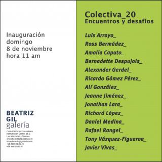Colectiva_20 / Encuentros y desafío