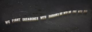 Joan Pallé, We reject decadence, 2021. Cortesía del artista y ADN Galeria.