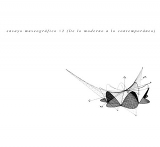 Dibujo trazado a partir de unos planos del arquitecto Félix Cándela, 1948