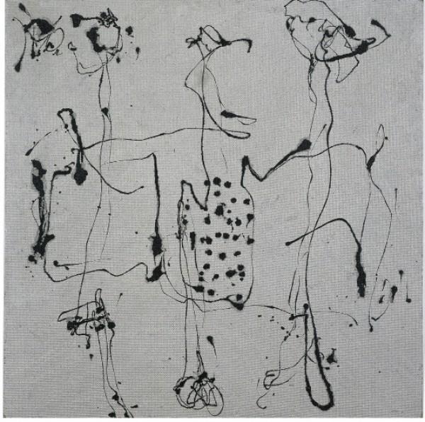 Jackson Pollock, (Silver Square), executed circa 1950