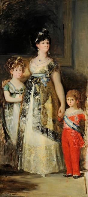 La familia de Carlos IV, fragmento (copia de Goya) Mariano Fortuny Óleo sobre lienzo Hacia 1867 Venecia, Fondazione Musei Civici di Venezia, Museo Fortuny – Cortesía del Museo del Prado