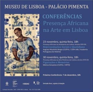 Conferências Presença Africana na Arte em Lisboa