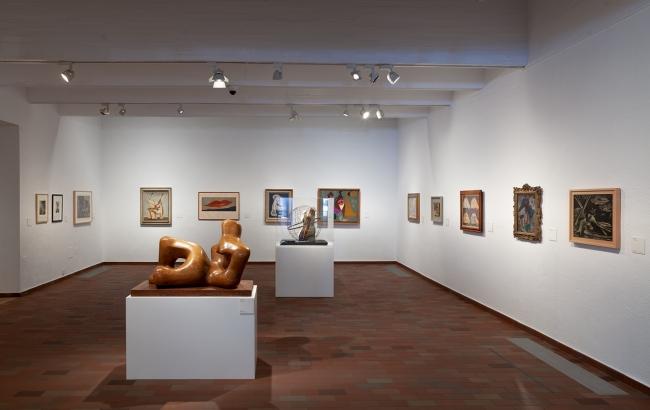 Vista de la exposición. Fotografía de Pere Pratdesaba — Cortesía de la Fundació Joan Miró