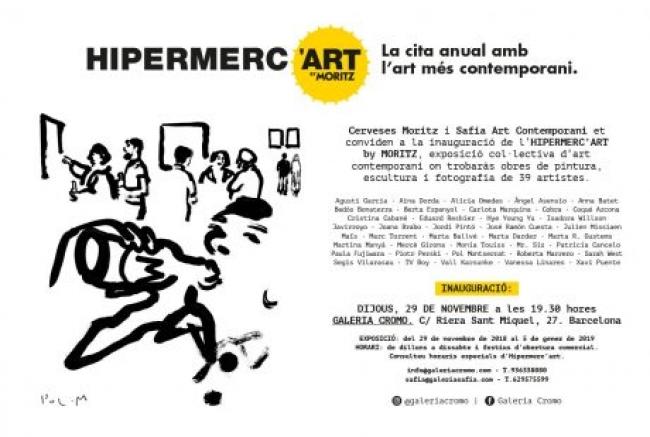 Hipermerc'art by Moritz — Cortesía de la Galería Cromo