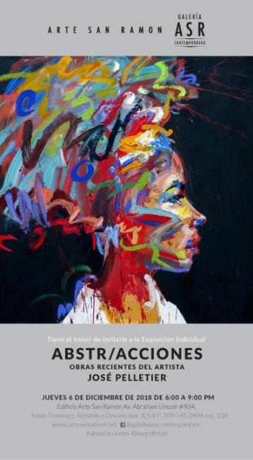 ABSTR/ACCIONES. Imagen cortesía Galeria ASR Contemporaneo