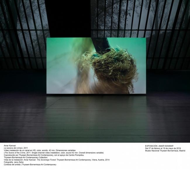 Amar Kanwar, La escena del crimen, 2011. Fotografía: Cortesía del artista | Thyssen-Bornemisza Art Contemporary — Cortesía del Museo Nacional Thyssen-Bornemisza