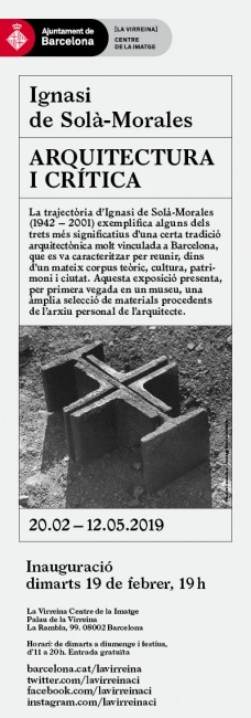 Ignasi de Solà-Morales. Arquitectura i cr ítica