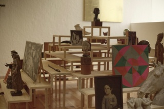 Installation view (studio). Photo: Pablo Delgado and Sarasvati Herrera