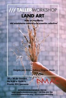 Taller de land art: 'Arte en equilibrio; del ecosistema natural a la creación colectiva'