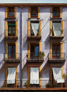 Neus Martín Royo, Born, 100 x 73 cm. — Cortesía de la Galeria Jordi Barnadas
