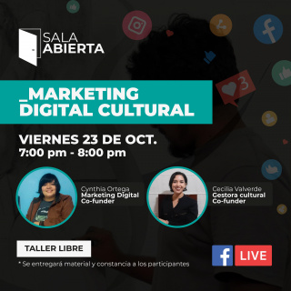 TALLER DE MARKETING DIGITAL CULTURAL