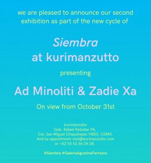 Siembra: Ad Minoliti & Zadie Xa