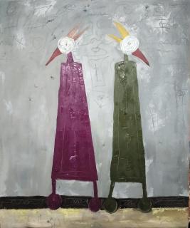 Dante y Virgilio